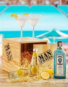 gifts: Gentleman's Gin Man Crate!