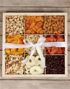 gifts: Mixed Fruit and Nut Crate!