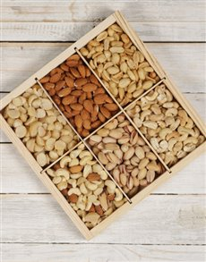gifts: Nut Variety Platter!