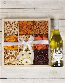 gifts: Chardonnay with Mixed Fruit and Nuts!