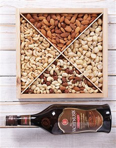 gifts: KWV Brandy & Nut Tray!!