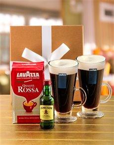 gifts: La Vazza Irish Coffee Hamper!