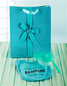 gifts: Hello Handsome Baby Boy Gift!