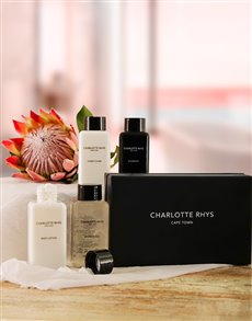 gifts: Charlotte Rhys Mini Pamper Hamper!