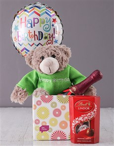 gifts: Happy Birthday Teddy Box!
