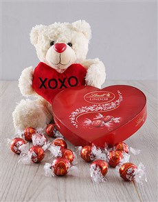 gifts: I Love You Teddy and Chocolate Set!