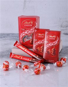 gifts: Lindt Chocolate Sensation Hamper!