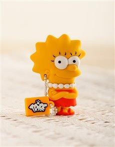 gifts: Simpson USB Flash Drive   Lisa!