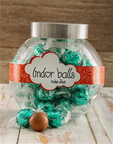 gifts: Lindt Coconuts for you Candy Jar!