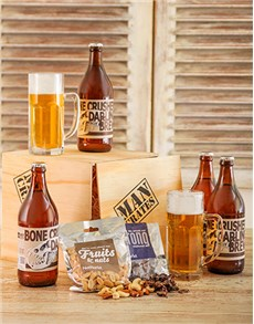 gifts: Craft Beer Man Crate!