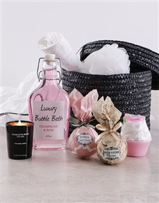 gifts: Unwind Bath and Body Hamper !