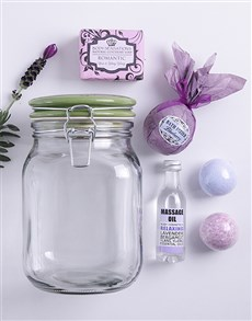 gifts: Lilac Bath Time Jar!