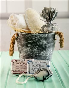 gifts: For Mr Handsome Bath Time Bucket !