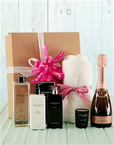 gifts: Bath and Bubbles Charlotte Rhys Hamper!