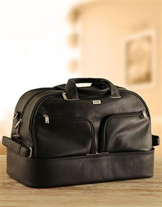 gifts: Busby Leather Golf Bag!