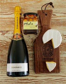 gifts: Cheese & Prongracz Bubbly Board!
