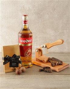 gifts: Klippies and Biltong Hamper!