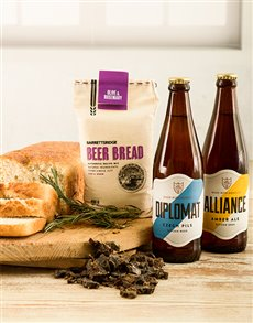 gifts: Olive And Rosemary Craft Beer Bread Gift Box!