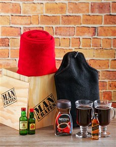 gifts: Winter Warmer Man Crate!