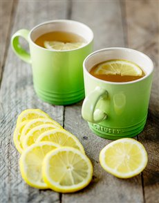 gifts: Le Creuset Toni Glass Tea For Two!
