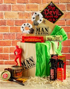 gifts: The Bachelors Man Crate !