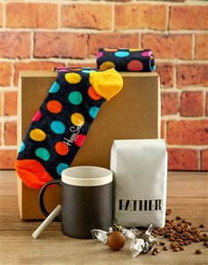gifts: Happy Father Socks Box!
