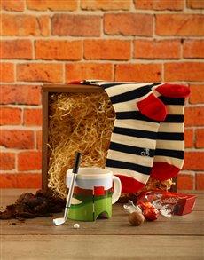 gifts: Golfers Happy Socks Box!