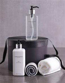 gifts: Bath and Body Serene Pamper Hamper!