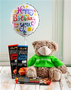gifts: Chocolate Teddy Birthday Box!