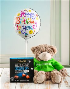 gifts: Hello Teddy Birthday Box!