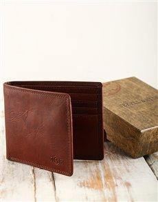 gifts: Jekyll & Hide Colorado Saddle Brown Wallet!