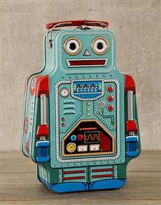 gifts: Robot Lunch Box!