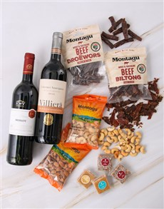 gifts: Red Wine Duo Snack Pairing!