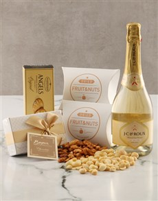 gifts: Golden Gourmet Snack Hamper!