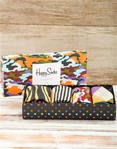 gifts: Happy Socks Camo Giftbox!