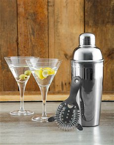 gifts: The Essential Cocktail Bar Kit!