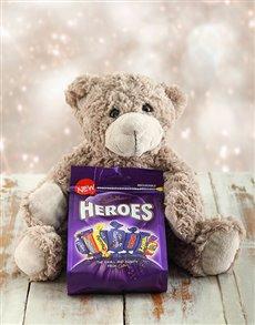 gifts: My Hero Teddy Hamper!