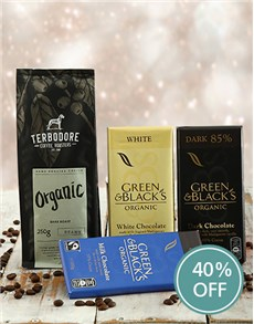 gifts: Organic Trio Therbedore Coffee Gift!