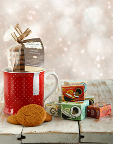 gifts: Tea and Cookies!