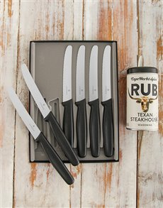 gifts: Victorinox Steak Knife Set!