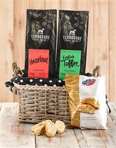 gifts: Best of Both Worlds Coffee Basket!
