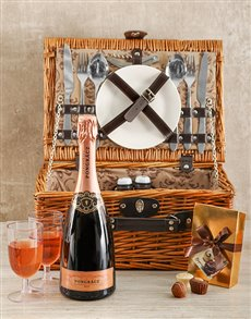 gifts: Rose Tinted Glasses Picnic Basket!