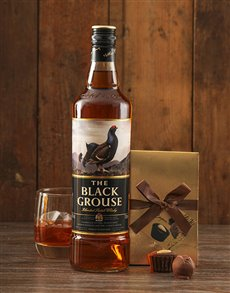 gifts: The Black Grouse Whisky and Truffles!
