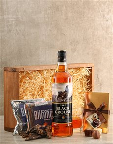 gifts: Whisky and Biltong Crate!
