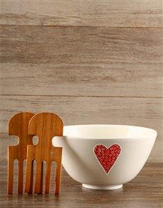 gifts: Love Salad Bowl!