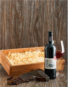 gifts: Biltong and Malbec Crate!