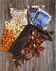 gifts: Biltong and Nuts Gift Hamper!