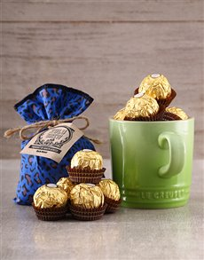gifts: Le Creuset Mug Coffee and Ferrero Rocher Gift!