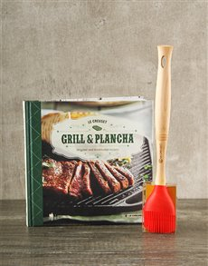gifts: Le Creuset Grill & Plancha set!