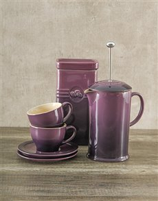 gifts: Le Creuset Coffee Set with Canister!